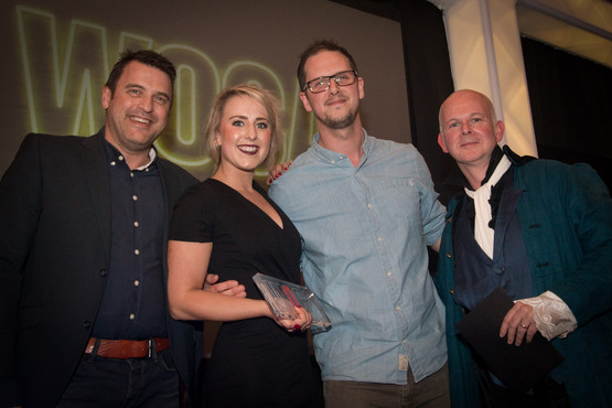 The 2015 What's On Cornwall Awards at the Eden Project.